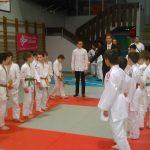 Salut des judokas